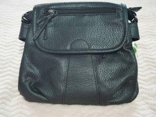 กระเป๋า หนังนิ่ม สีดำ