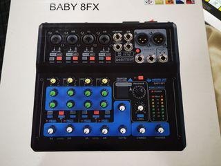 Mixer ยี่ห้อ Proeuro Tech รุ่น Baby 8FX