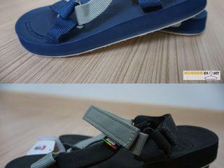 รุ่นหายาก รองเท้าแตะรัดส้น Kito สีกรมและสีดำ ของแท้แน่นอน