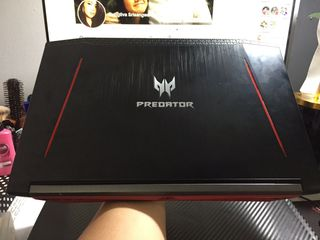 AcerPredatorHelios300 i7-8750H Ram8GB GeForceGTX1060 6GB