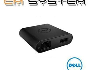 Dell DA200 Adapter USB Type-C to HDMI/VGA/Ethernet/USB3.0