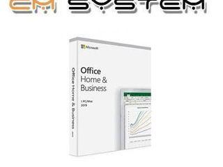 Microsoft Office Home and Business 2019 English APAC EM Medi