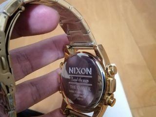 นาฬิกา Nixon unit ss Gold