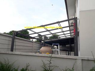 รับงานโครงสร้างหลังคา หน้าบ้าน หลังบ้าน โรงจอดรถ