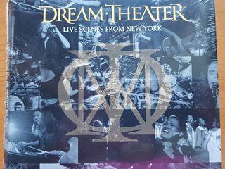 ซีดี DREAM THEATER อัลบั้ม LIVE SCENES FROM NEW YORK (3cd)