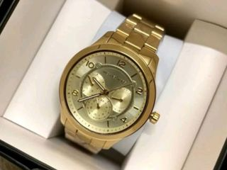 นาฬิกาข้อมือหญิง MICHAEL KORS Runway Gold Dial Ladie