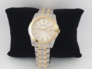 นาฬิข้อมือ ชาย-หญิง BULOVA MEN S 98H18 QUARTZ