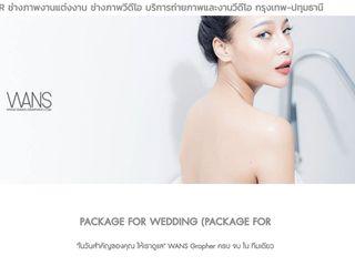 ช่างภาพวีดีโอ ช่างภาพงานแต่งงาน Weddingphotograp WANS Graphe