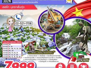 ทัวเวียดนามใต้ ดาลัท สวนไฮเดรนเยีย เลสโก บุหงาลั่นทุ่ง 3D2N