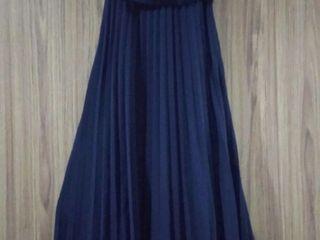 ชุดเดรสราตรียาวผู้หญิง JASPAL, size XS สีน้ำเงินเข้ม กรมท่า