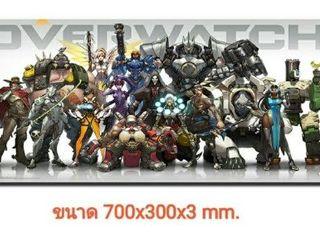 แผ่นรองเมาส์เกมมิ่ง Overwatch ราคาถูก ขนาด 700x300x3 mm. Gam