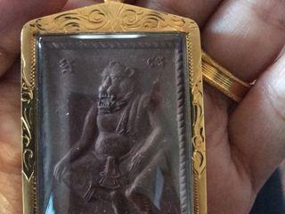 ปู่เจ้าสมิงพรายเลี่ยมทองคำแท้