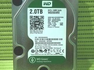 HDD WD GREEN 2.0TB   สภาพสวย ใช้งานได้ปกติ มีผลเทส