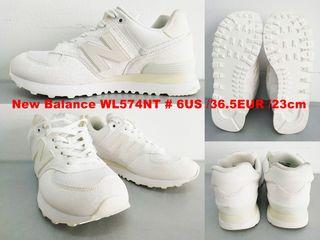 รองเท้า NEW BALANCE Model WL574NT สีขาว