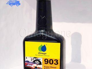 ลดควันดำ ประหยัดน้ำมัน หัวเชื้อน้ำมันดีเซลโอเมก้า 903 omega