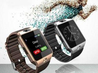 นาฬิกาสัมผัสหน้าจอ รุ่น DZ09 โทรศัพท์มีกล้อง ซื้อ 1 เเถม 1
