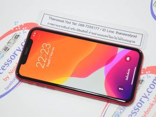 iPhone 11 64GB TH Red เครื่องศูนย์ไทยแท้ แบต 100 พร้อมกล่อง
