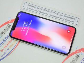 ขาย iPhone X 256GB TH White เครื่องอย่างสวย จอใส ไม่ติดโปร ร