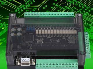 บอร์ดควบคุมโปรแกรม PLC FX3U 24MR พร้อมส่ง