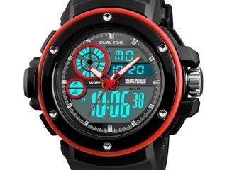 SKMEI นาฬิกา2ระบบกันน้ำ(ของแท้ พร้อมกล่องใบรับประกันครบ)