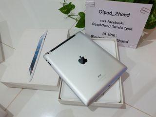 iPad 4 32GB Wifi Cellular ใส่ซิมได้ สี Silver มือสอง