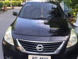 ขาย รถบ้าน NISSAN ALMERA ปี 2012 รุ่น E CVT เกียร์ออโต้ สีดำ