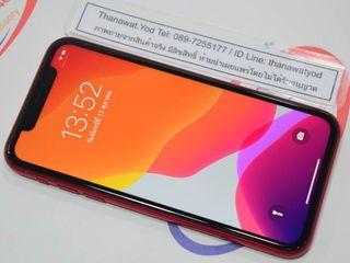 (ลดราคา) iPhone 11 64GB TH Red เครื่องศูนย์ไทยแท้ แบต 99