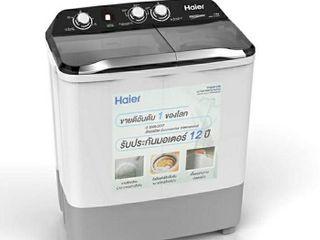 Haier เครื่องซักผ้า 2 ถัง รุ่น HWM-T85 OXS