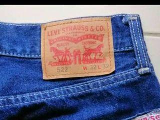 กางเกงยีนส์  LEVI  เอว 32