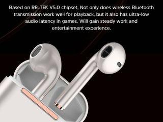 ลดจัดหนักBASIKE หูฟัง บลูทูธ แท้ TWS หูฟัง
