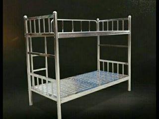 เตียงนอนแสตนเลสแบบ2ชั้น