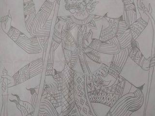 ภาพวาดทศกัณฐ์