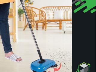 ไม้กวาดดูดฝุ่น ไม้กวาดอัจฉริยะ Sweep All-In-One