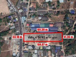 ขาย-ให้เช่า ที่ดินเปล่าทำเลทองบ่อวิน 4 ไร่ 92 ตารางวา ตำบลบ่