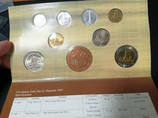 แผงเหรียญกษาปณ์ ปี2540