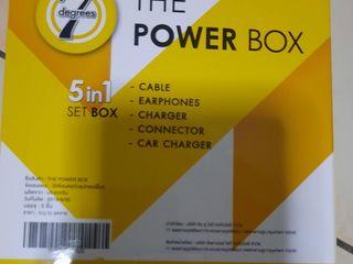 7degrees the power box ชุดหูฟัง อุปกรณ์การชาร์จ