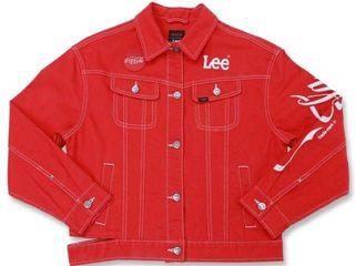 LEE Jacket coca-cola collection แท้จาก shop สภาพใหม่มากก