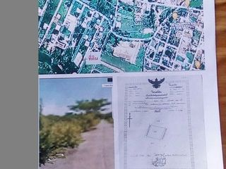 ขายที่ดิน ขนาด 40x40 เมตร ในหมู่บ้านกุตกว้างใกล้ บขส 3 ในเมื