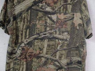 เสื้อยืดลายพรางป่าไม้ อก 24 ยาว 27