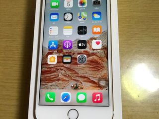 i phone 6s plus 64g L/A สีทองสภาพใหม่ อุปกรณ์ครบกล่อง
