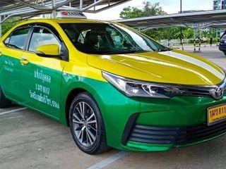 ขายรถเเท๊กซี่เขียวเหลืองเอกสารเล่มพร้อมโอน