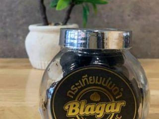 กระเทียมโทนบ่มดำนาน 365 วัน 1 กระปุกแก้ว ขนาด 100 กรัม
