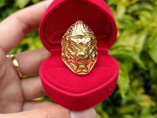 แหวนทอง18k เสริมบารมี