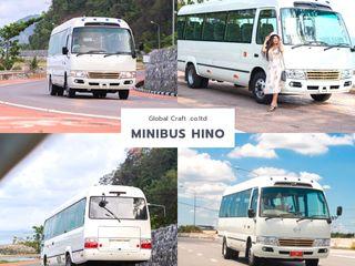 รถมินิบัส HINO 20ที่นั่ง ดีเซล 150แรงม้า ใช้ทดแทนรถตู้